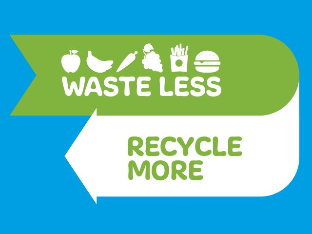 Waste less, recycle more image