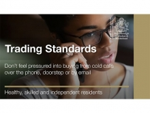 Trading standards tweet card